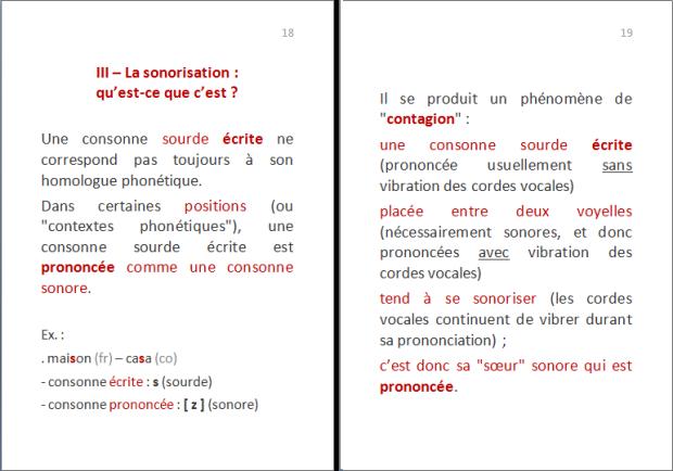La langue corse : quelles lettres pour quels sons ? p.8